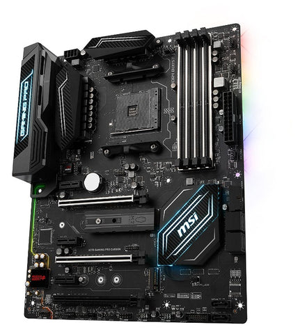 Image of Msi X370 Gaming Pro Carbon Am4 Amd X370 Sata 6Gb/S Hdmi Atx Motherboard