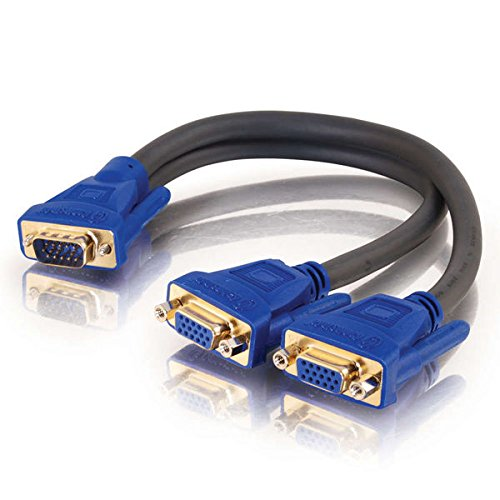 C2G Ultima HD15 Male to Two Female SXGA Monitor Y-Cable
