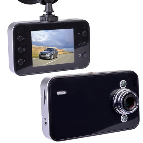 "Image of Automotive 720p HD Dashcam with Night Vision, 2.4"" LCD Screen & Windshield Mounting (Records to microSD Card)"