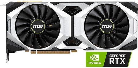 MSI GeForce RTX 2080 DirectX 12 RTX 2080 VENTUS 8G OC 8GB 256-Bit GDDR6 PCI Express 30 x16 HDCP Ready SLI Support Video Card