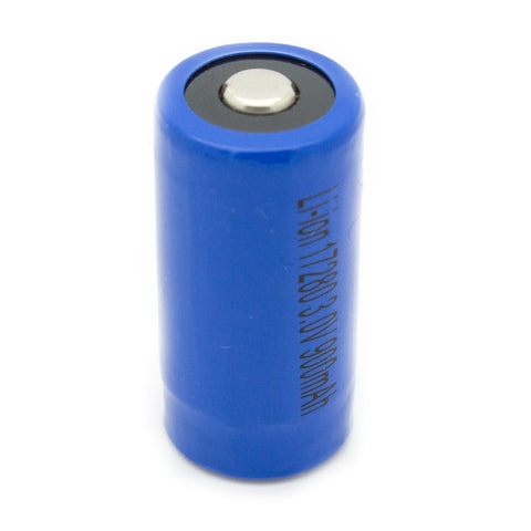 Image of Gulfe RCR123A 900mAh Li-Ion Rechargeable Replacement for CR123A Battery
