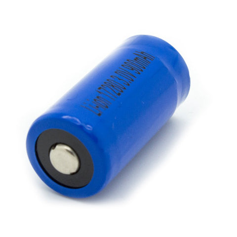 Gulfe RCR123A 900mAh Li-Ion Rechargeable Replacement for CR123A Battery