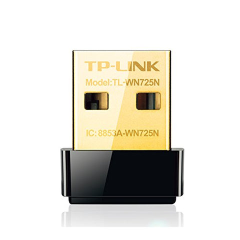 TP-Link TL-WN725N 150Mbps Wireless-N Network Nano USB Adapter