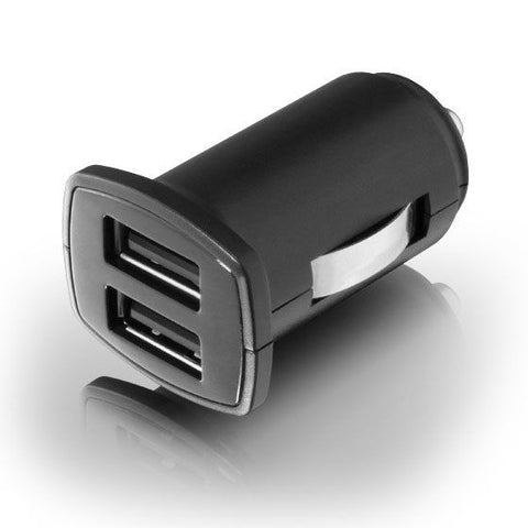 Aluratek AUCC03F 5V 2-Port USB Car Charger (Black)