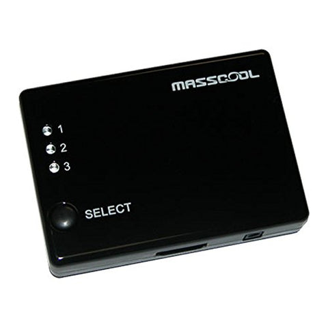 Image of Masscool HS-MA103S HDMI 3-in 1-out Amplifier Switch