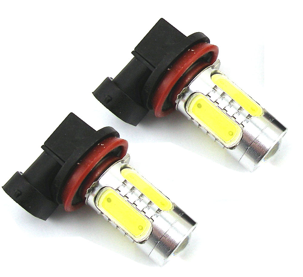 SwitchCarParts 2x 7.5W Super White 880 881 Cree LED Fog Light Driving Daytime Bulb Lamp (2-Pack)