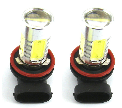 Image of SwitchCarParts 2x 7.5W Super White 880 881 Cree LED Fog Light Driving Daytime Bulb Lamp (2-Pack)