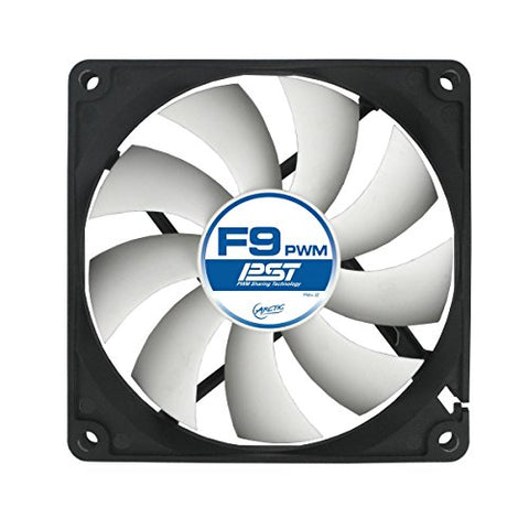 Image of Arctic F9 PWM 92mm Fluid Dynamic Case Fan with 4-Pin Power