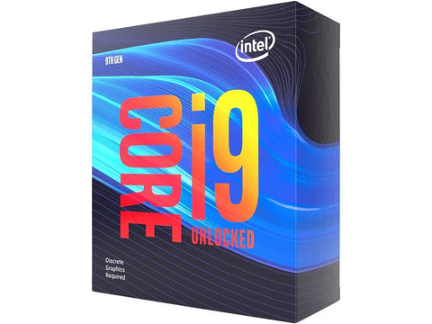 Image of Intel Core i9-9900KF Coffee Lake 8-Core, 16-Thread, 36 GHz (5.0 GHz Turbo) LGA 1151 (300 Series) 95W BX80684I99900KF Desktop Processor