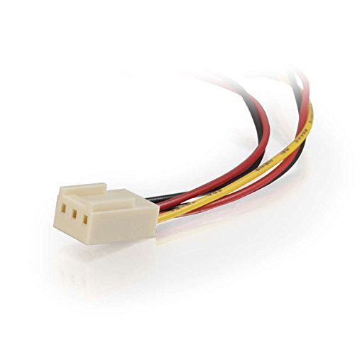 C2G 4in 3-pin Fan Power Y-Cable 27391