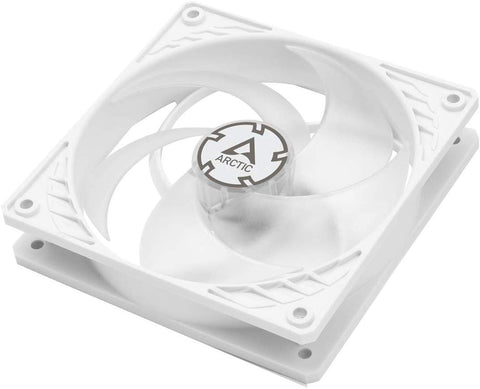 Image of Arctic P12 PWM Pressure Optimised 120mm Fan with PWM (White/Transparent)
