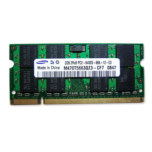 2Gb (1X2Gb) Sodimm Ddr2 Pc-6400 800Mhz Laptop Ram