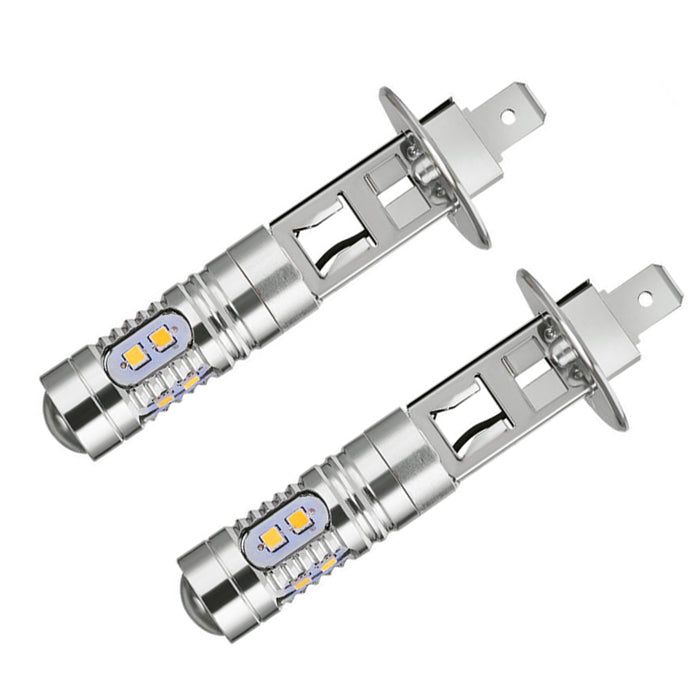 SCP H1 Cob White Led Bulb Pair