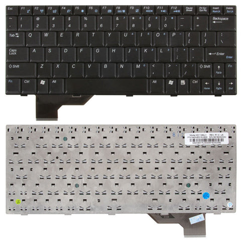 Asus U5, U5F, U5S, U5A Black Replacement Laptop Keyboard