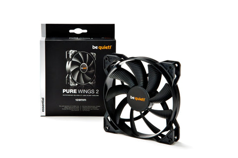 Image of be quiet! BL046 PURE WINGS 2 120mm Max.1500RPM 51CFM 19dB(A) Cooling Fan
