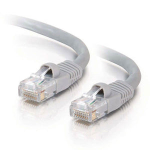 C2G 15211 25-foot Male RJ45 Cat5e Ethernet Cable (Grey)