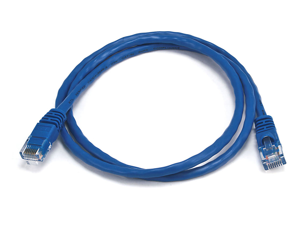 Battleborn 3 foot Ethernet Cat5e Patch Cable - Blue