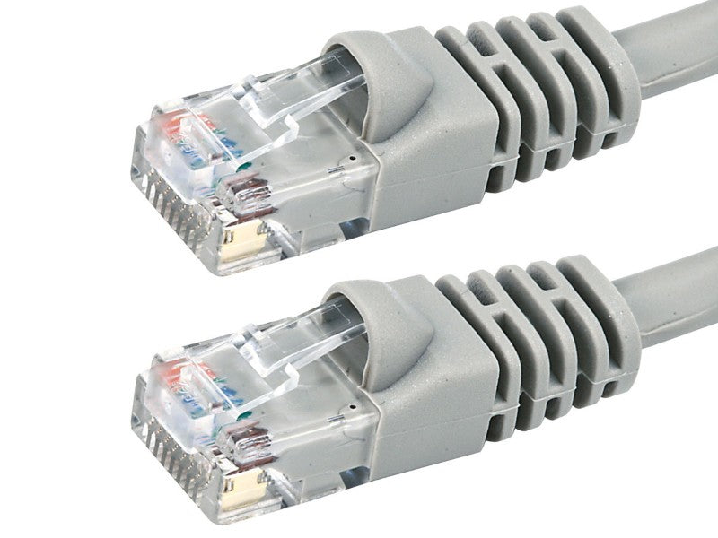BattleBorn 1 Foot Cat5e RJ45 Crossover Ethernet Network Cable (GREY)