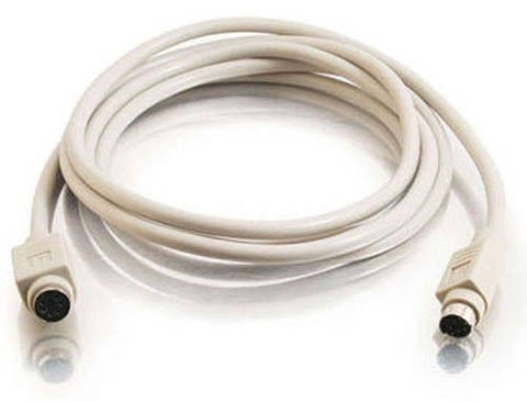 BattleBorn 6 Foot PS2 Male-to-Female Extension Cable - 6 Foot (PS/2 Extension)