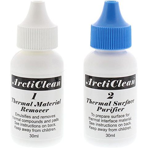Image of ArctiClean 60ml Thermal Grease Remover and Purifier Kit - 1&2