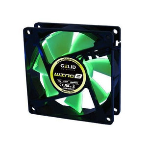 GeLid Wing8 80mm FN-FW08-20 2000RPM 21dBa Gamer Case Fan with RPM