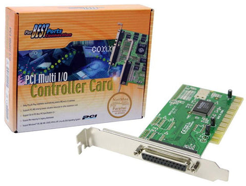 Syba Netmos 9805 PCI to Parallel Port Controller Card