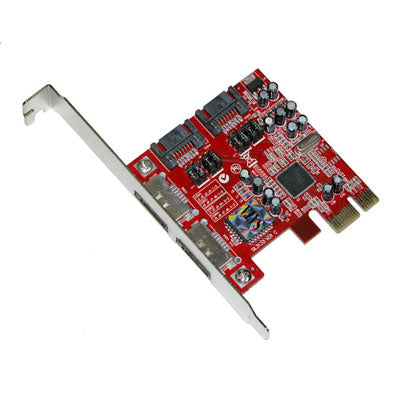 Masscool XWT-PCIE10 PCIe X1 4-Port SATA2 Controller Card