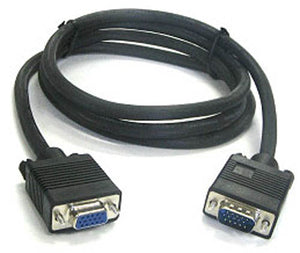 BattleBorn 25 Foot SVGA Male-to-Female Monitor Extension Cable - 25 Feet