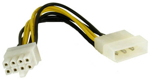BattleBorn 4-pin Molex to 8 PIN EPS12V Adapter Cable