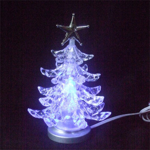 USB Christmas Tree with Multicolor LEDs