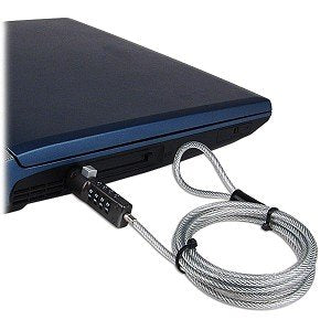 Image of Monmount 4 Foot Universal Notebook/PC/Monitor Laptop Lock