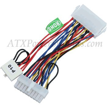 "Athena Power 6"" 20-pin to Dell 20+6 Pin Power Convertor Cable"