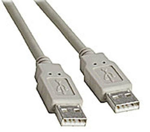 BattleBorn 15 Foot USB 2.0 A-to-A Male to Male Cable (BEIGE)