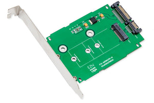 "Syba SI-ADA40083 M.2 NGFF to 2.5"" SATA 6Gbps Card"