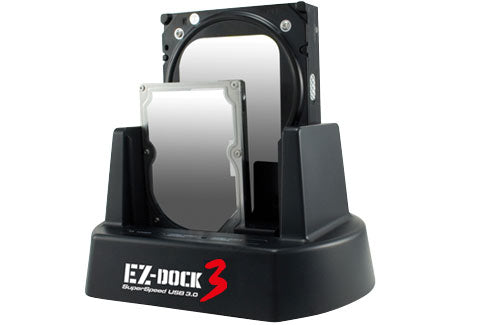 Image of Kingwin EZ-Dock 3 Stand Alone 3.5/2.5inch Hard Drive Duplicator Dock