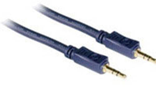C2G 6' Velocity 3.5mm M-M Stereo Audio Cable
