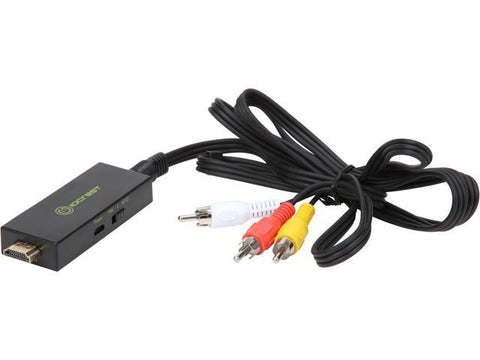 Image of Syba HDMI TO AV RCA Composite Converter Cable Adapter - SY-ADA31064