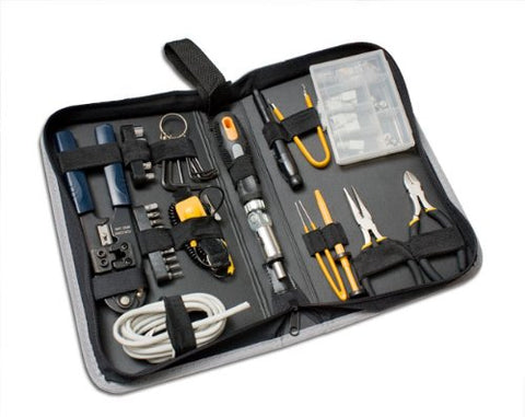 Image of Syba 65-Piece Computer Builders Tool Kit with Zipper Case