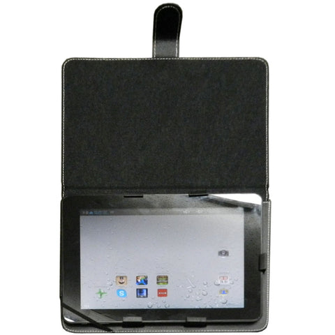 "vitalASC TB-Case-1102-9 9.7"" Leather Folio Case with Adjustable Stand"