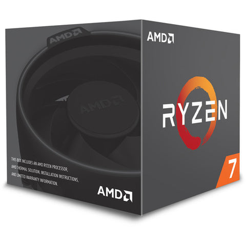 Image of AMD RYZEN 7 1700 8-Core 3.0 GHz (3.7 GHz Turbo) Socket AM4 65W YD1700BBAEBOX Desktop Processor