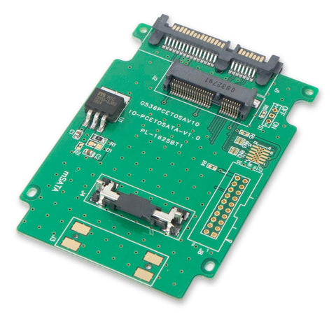 "Syba Mini-SATA SSD to 2.5"" SATA Adapter"