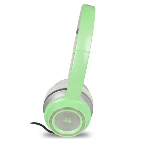 Monster N-Tune High Performance On-Ear Headphones w3.5mm Plug (Pearl Green)