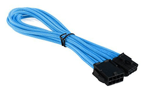 BattleBorn CB-8PEXT 8 Pin EPS Extension Cable - Braided Light Blue