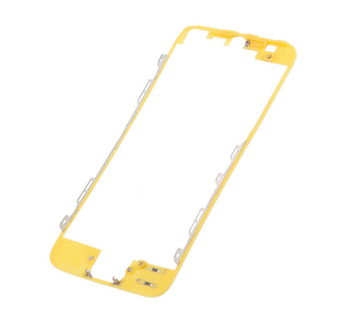 Yellow Middle Frame Bezel Replacement for iPhone 5