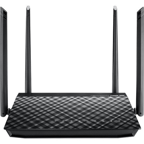 ASUS RT-AC1200G AC1200 Dual-Band Wi-Fi Router with four 5dBi antennas and Parental Controls