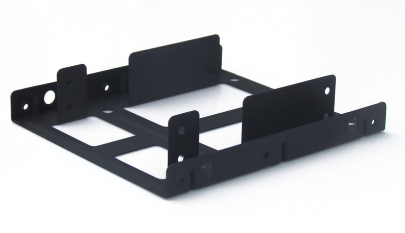 KingWin HDM-225-BK Internal 2.5 to 3.5 H.D.D. Metal Mounting Kit Black