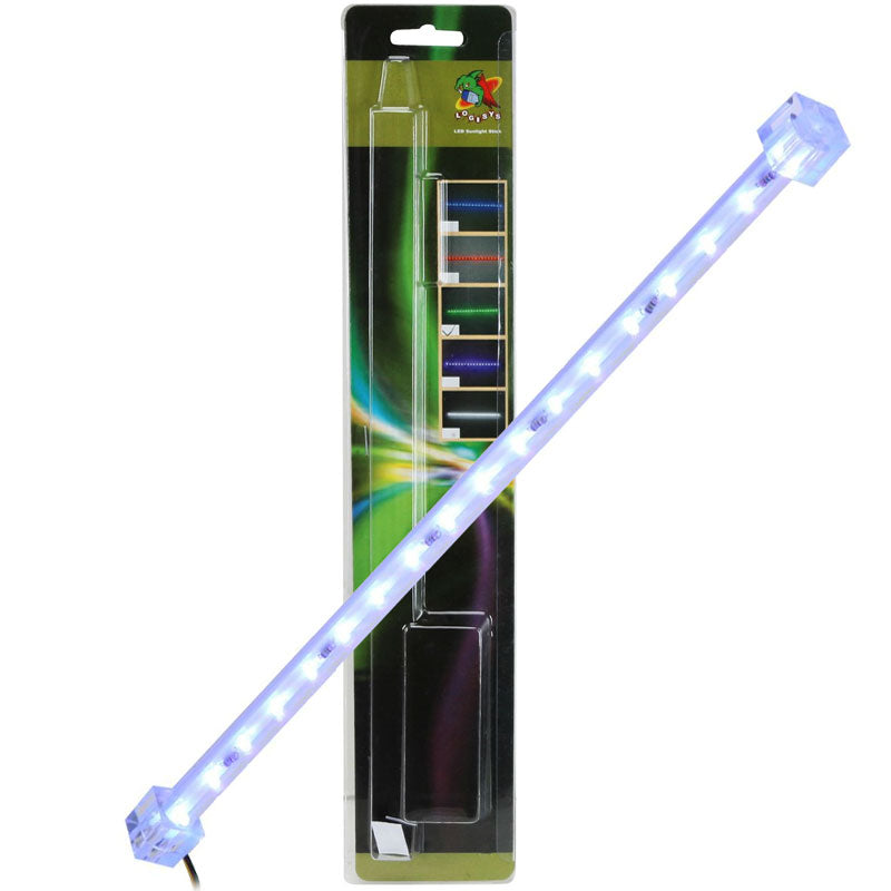 "Logisys ML12UV Sunlight Bar 12"" 4-Pin LED Light Stick (Ultra Violet)"