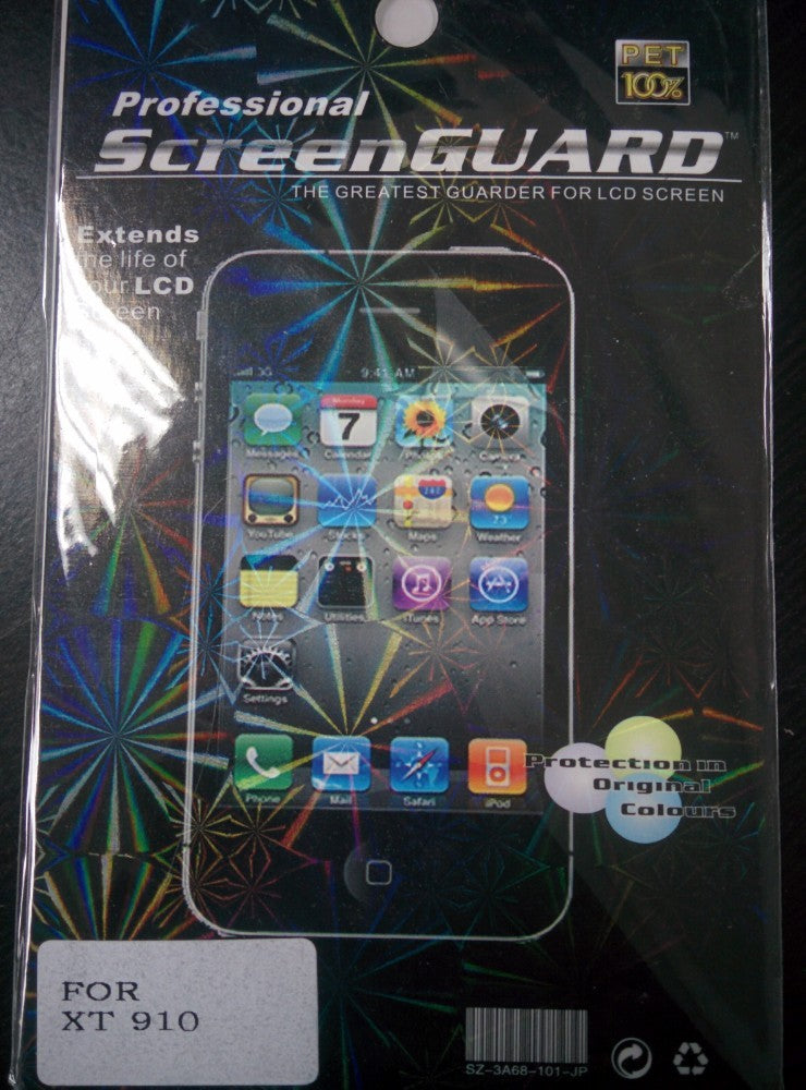 Clear LCD Screen Protector for Motorola Droid RAZR MAXX
