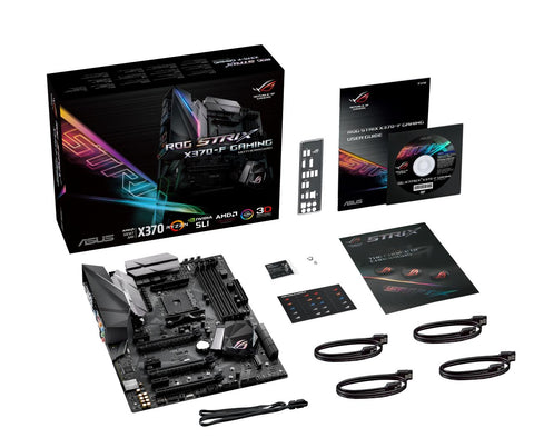 ASUS ROG STRIX X370-F GAMING AM4 AMD X370 SATA 6Gb/s USB 3.1 HDMI ATX AMD Motherboard