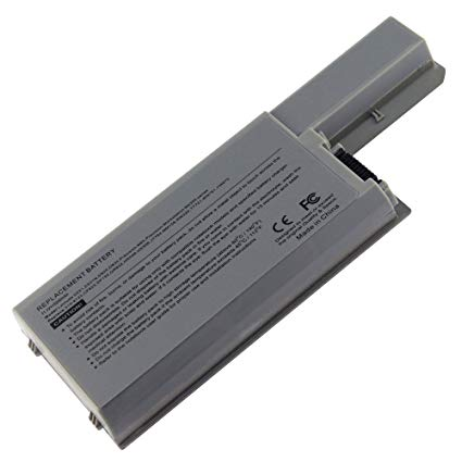 6 Cell Battery for Dell Latitude D820, D830, D531, M4300, M65, 312-0393, CF623, DF192 US